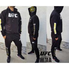 Модерен мъжки анцуг UFC MMA MXCSPORT черен
