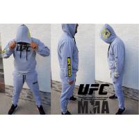 Модерен мъжки анцуг UFC MMA MXCSPORT сив