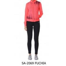 Анцуг дамски Speedlife Tracksuits Fuchia 1