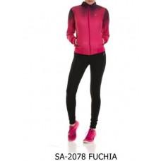 Анцуг дамски Speedlife Tracksuits Fuchia 2